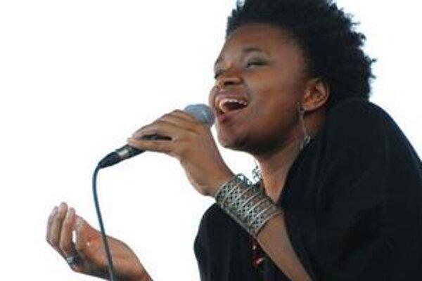 Pôvabná Lizz Wright spievala najmä gospelovo-bluesové skladby.