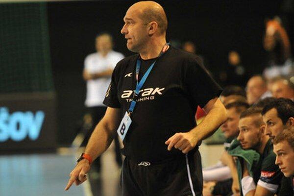 Tréner Prešova David.