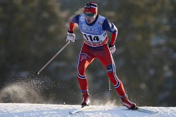 Finn Haagen Krogh v nedeľu vyhral pred svojimi dvomi nórskymi krajanmi.