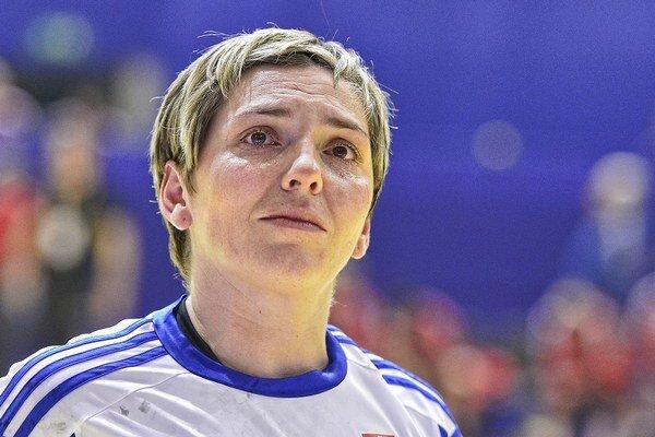 Slovenská hádzanárka Lýdia Jakubisová.