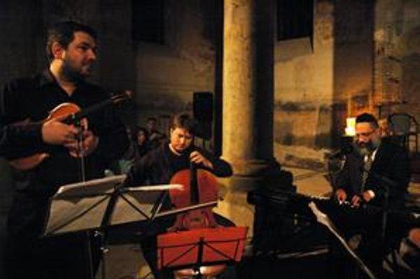 Festival vyvrcholil v stupavskej synagóge projektom Chassidic Songs.