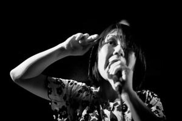 Speváčka Deerhoof Satomi Matsuzaki.