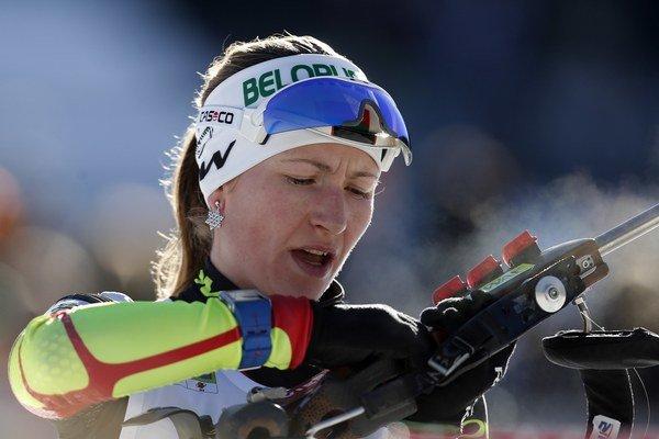Podľa Medzinárodnej asociácie športovej tlače je najlepšou športovkyňou v Európe bieloruská biatlonistka Daria Domračevová.