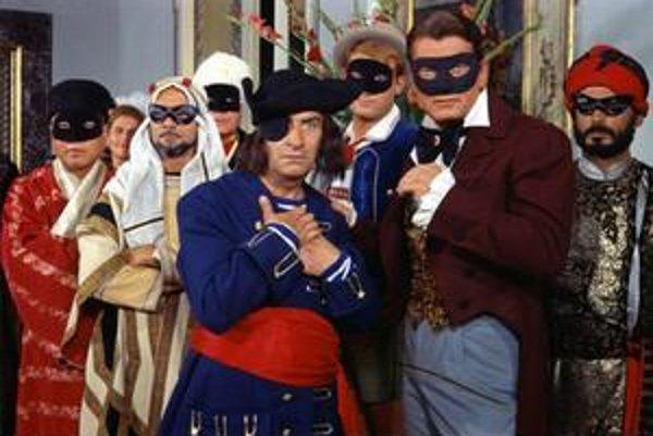 Francúzov trápi, kto nahradí Funesa, nás to, kto v dabingu nahradí Františka Filipovského. Zrejme titulky.