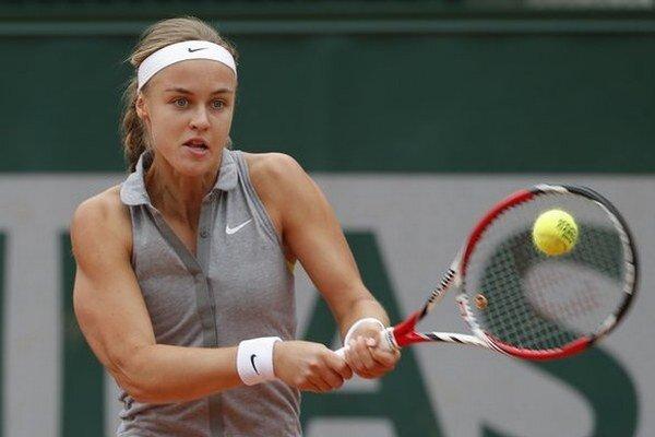 Karolína Schmiedlová mala veľkú šancu postúpiť do štvrťfinále.
