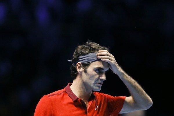 Roger Federer dal Andymu Murraymu takmer dvoch kanárov.