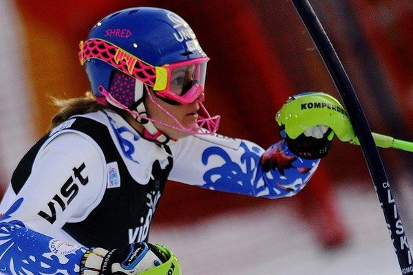 Slovenka Veronika Zuzulová opäť jazdí preteky Svetového pohára v slalome.