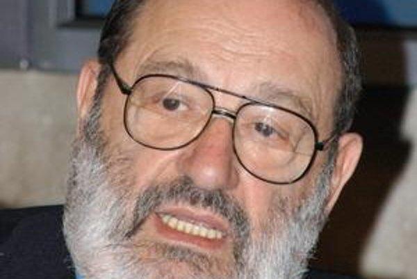 Umberto Eco sa zahrá na kurátora.
