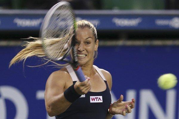 Dominika Cibulková skončila v Tokiu vo štvrťfinále.