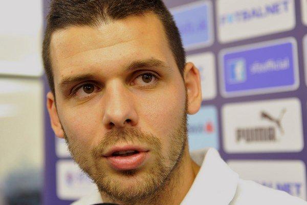 Michal Ďuriš strelil v Česku dva góly.