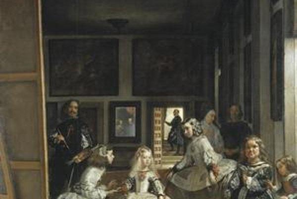 Velázquezov slávny obraz Las Meninas.