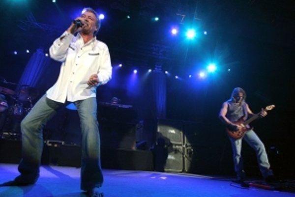 Koncert skupiny Deep Purple v bratislavskej Expo aréne v Bratislava v roku 2006.