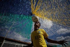Brazília mesiac žije futbalom naplno.