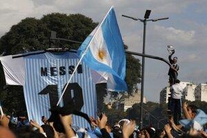 Smútok v Argentíne vystriedalo nadšenie.