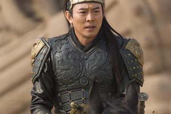 Jet Li, tentoraz ako čínsky panovník.