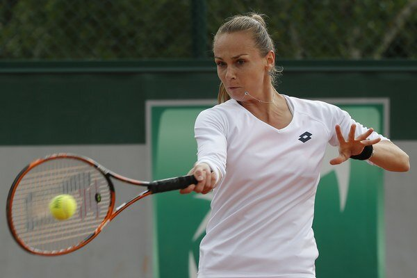 Slevenská tenistka Magdaléna Rybáriková.