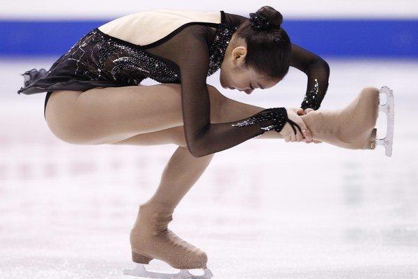 Kórejskej krasokorčuliarke Kim Ju-na patrí olympijské striebro.