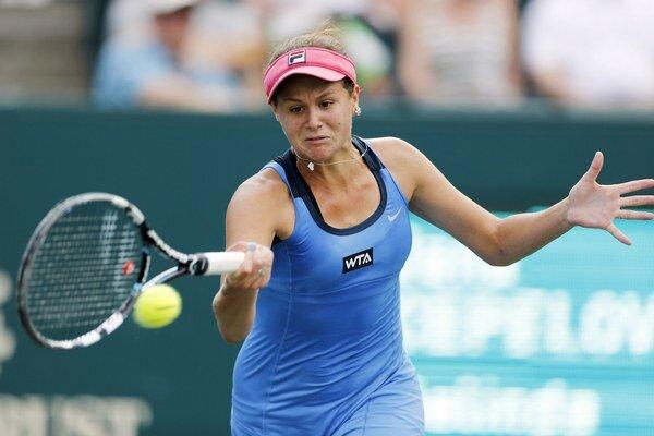 Jana Čepelová na zelenej antuke v americkom Charlestone  prešla až do finále.