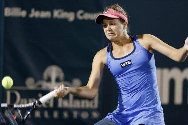 Jana Čepelová sa v Charlestone prebojovala do svojho prvého finále na okruhu WTA.