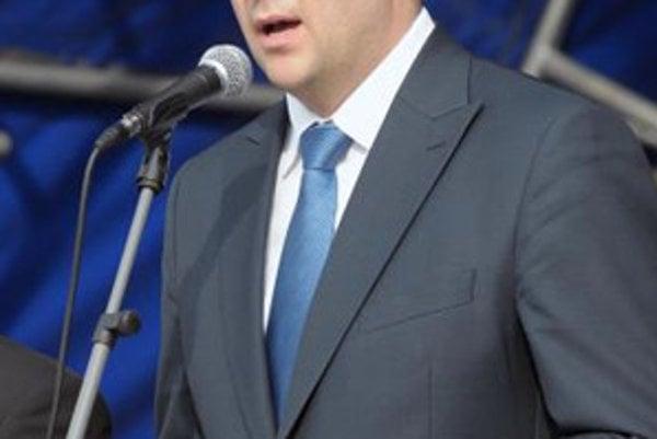 Minister obrany SR Jaroslav Baška.