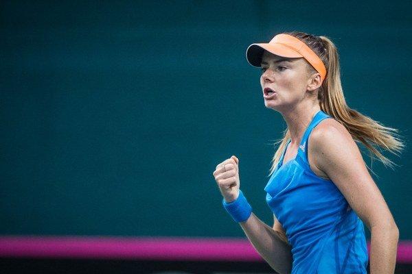Slovenka Daniela Hantuchová si po dlhšom čase zahrá semifinále turnaja WTA.