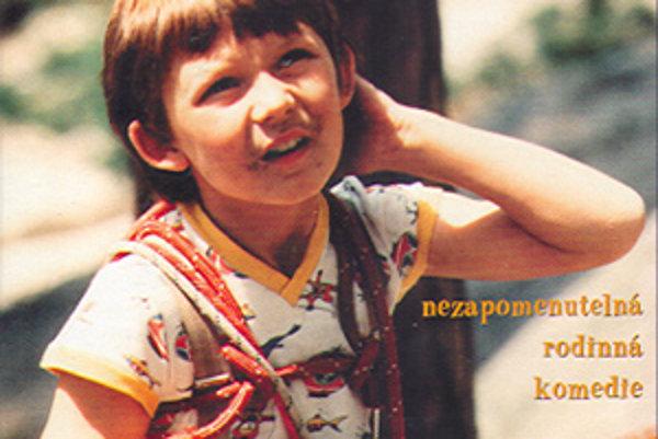 Tomáš Holý na obele úspešného a obľúbeného filmu Jak dostat tatínka do polepšovny (1978).