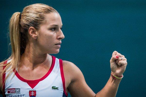 Dominika Cibulková zrejme zostane v TOP10.