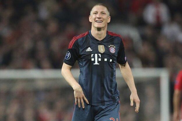 Schweinsteiger je legendou nemeckého futbalu i Bayernu Mníchov.