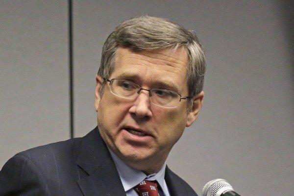 Republikánsky senátor Mark Kirk.