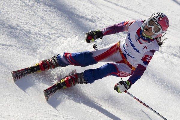 Slovenská lyžiarka Henrieta Farkašová.