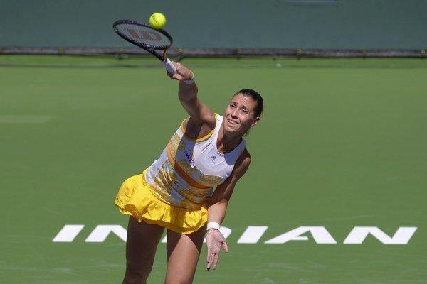 Flavia Pennettová bola v Indian Wells najlepšia.