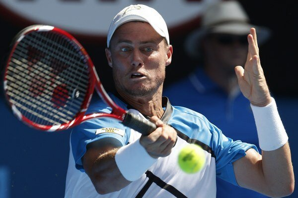 Lleytona Hewitta v prvom kole Australian Open zdolal Andrea Seppi.