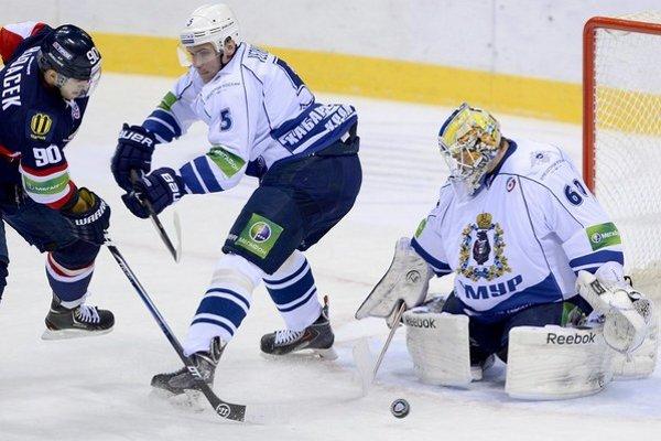 Časť z členov výpravy Amuru Chabarovsk bola po zápase v Bratislave opitá.