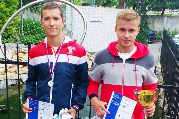 Martin Blaško (vľavo).