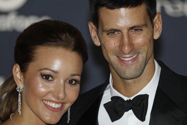 Novak a Jelena.