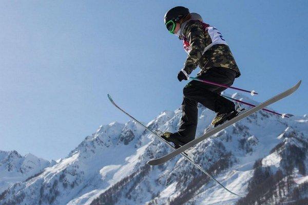 Slovenská reprezentantka v akrobatickom lyžovaní Natália Šlepecká.