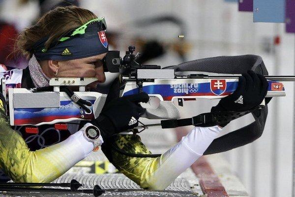 Anastasia Kuzminová potešila Slovensko už pri svojom prvom štarte v Soči. Na trať vybehne ešte päťkrát.