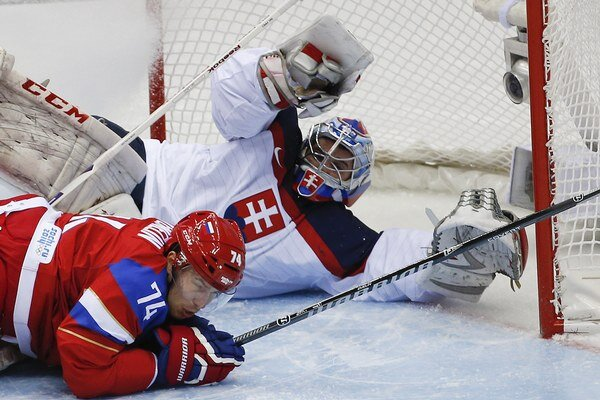 Rusov v zápase fantasticky vychytal brankár Ján Laco.