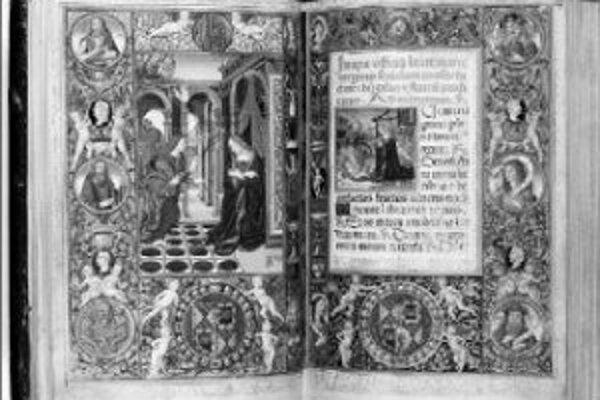 Výstava stredovekých rukopisov o narodení Krista