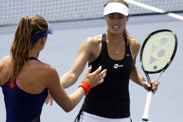 Martina Hingisová získala v kariére päť grandslamových titulov. Tohto roku si na piatich turnajoch zahrala štvorhru s Danielou Hantuchovou.