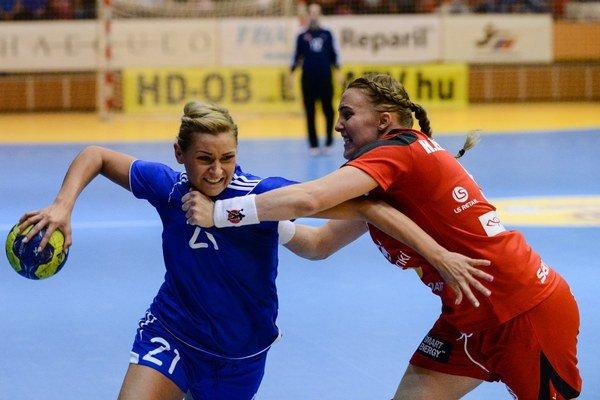 Šali vo finále nepomohla aj reprezentantka Simona Szarková.