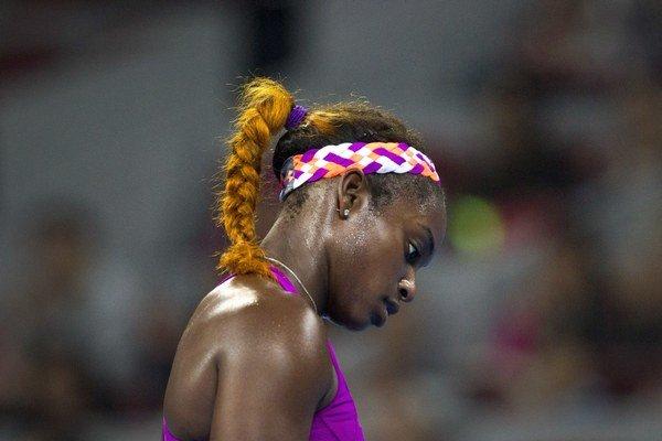 Americká tenistka Sloane Stephensová.