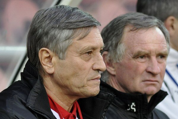 Dušan Radolský (vľavo).