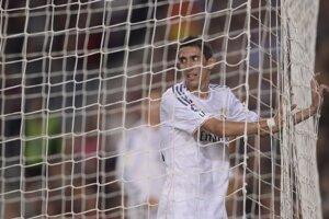 Angel Di Maria z Realu Madrid. Ilustračná snímka.