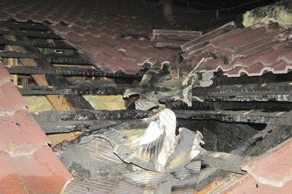 Dom mal úmyselne podpáliť muž z Michaloviec.