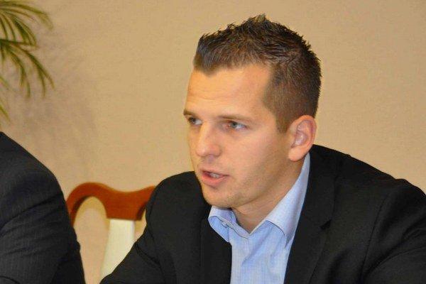 Predseda komisie športu Juraj Gubáni.