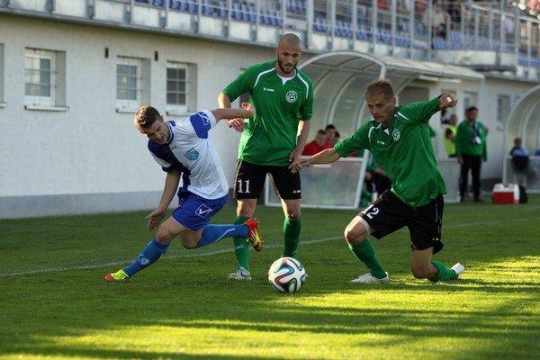 Seneckí futbalisti nestačili doma na Šamorín.
