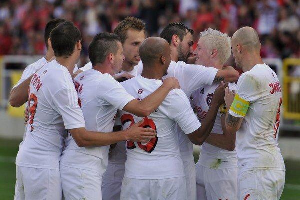 Spartakovci sa po dvoch zápasoch bez gólu opäť mohli radovať.