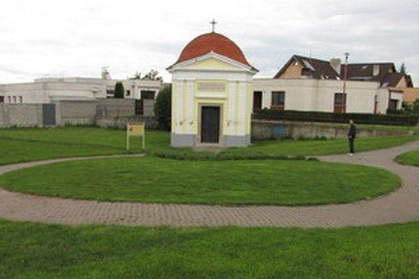 Morová kaplnka na Kopánke.