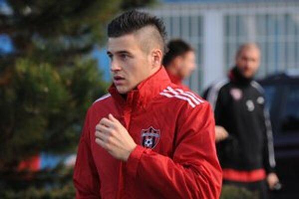 Martin Klabník chce v Spartaku presvedčiť o svojich kvalitách.